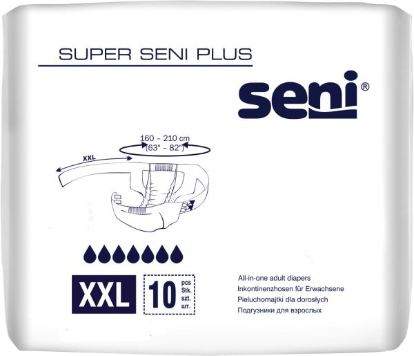 Super Seni plus XXL 10 St.