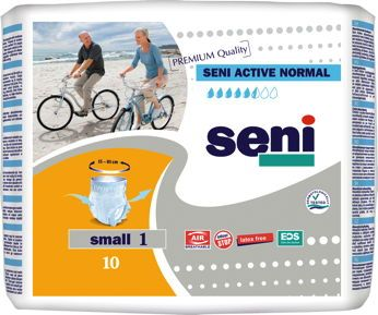 Seni Active Normal Small 10 St.