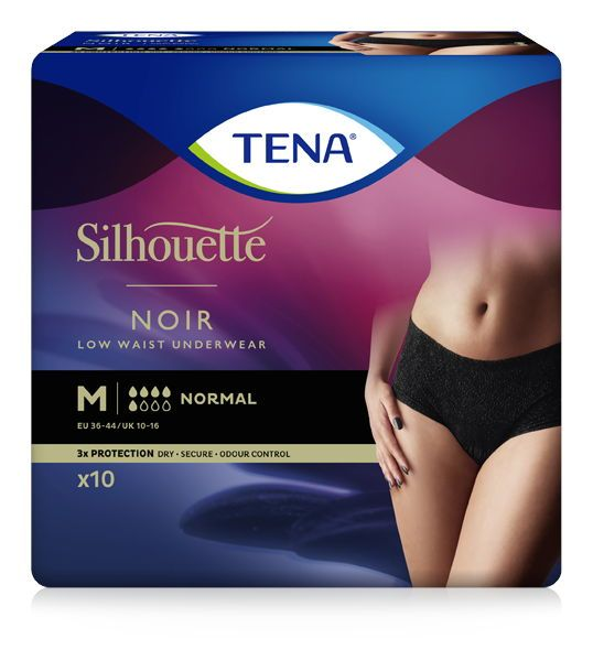 Tena Silhouette Normal Noir