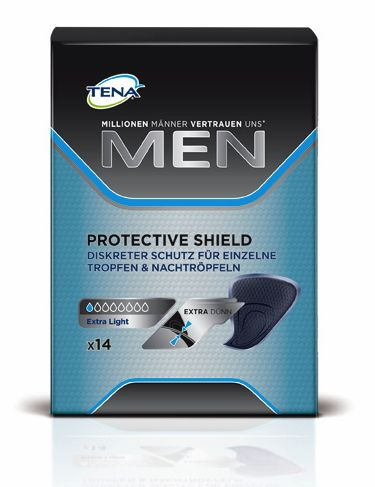 Tena Men Protective Shield Extra Light 14 St.