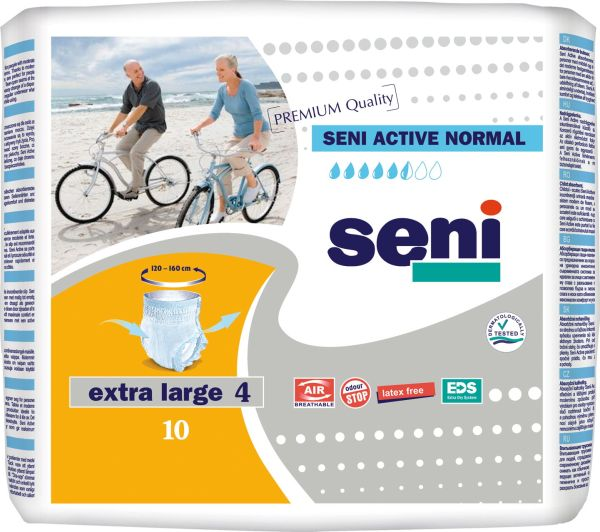 Seni Active Normal Extra Large 10 St.