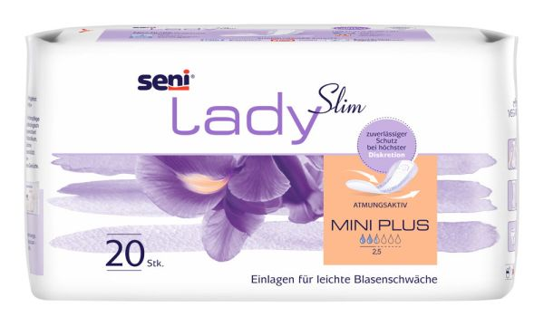 Seni Lady Slim Mini Plus 20 St.