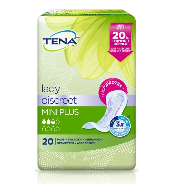 Tena Lady Discreet mini plus 20 St.